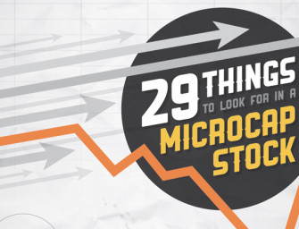 29 Things to Look For in a Microcap Stock