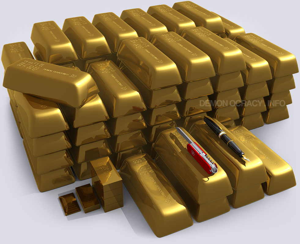 12 Stunning Visualizations Of Gold Show Its Rarity