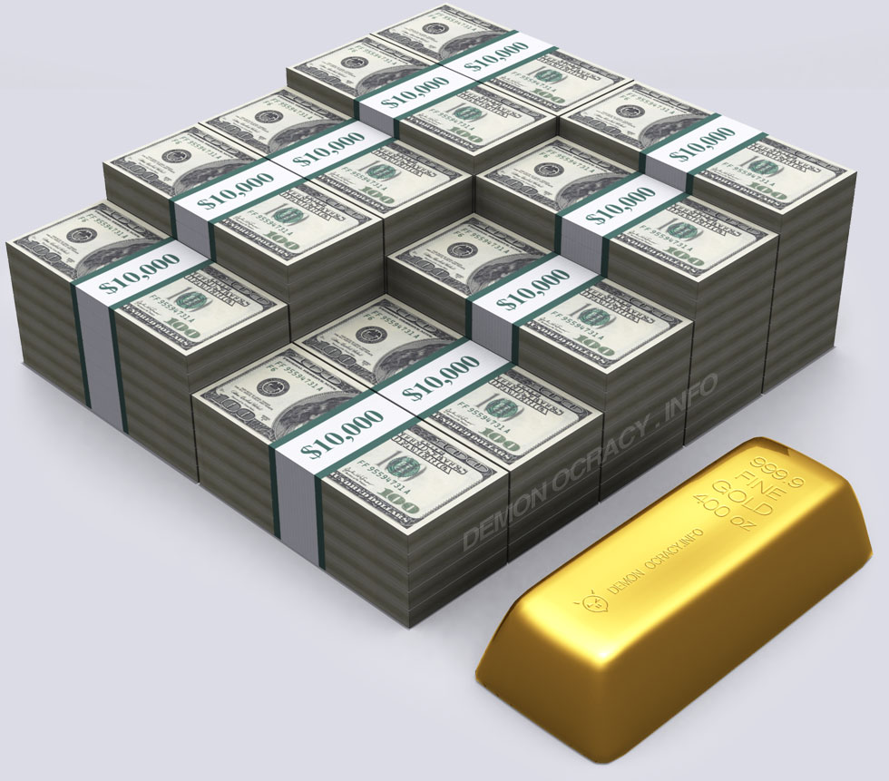Visualizing All The Gold In The World Etf Daily News