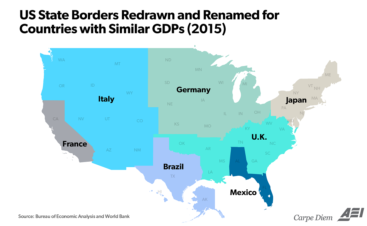 These 3 Maps Help to Visualize Americas 18 Trillion Economy